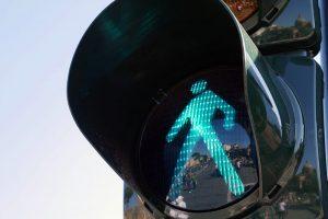 пішохідний світлофор - виставка дорожнього будфвництва