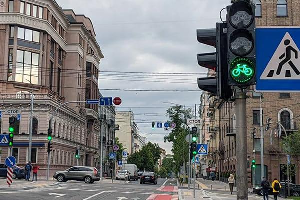 велосипедний світлофор
